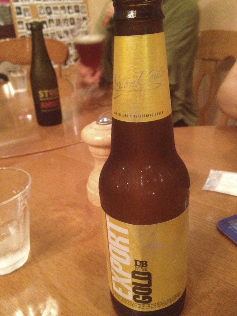 ニュージーランド料理 キウィハウスのビール