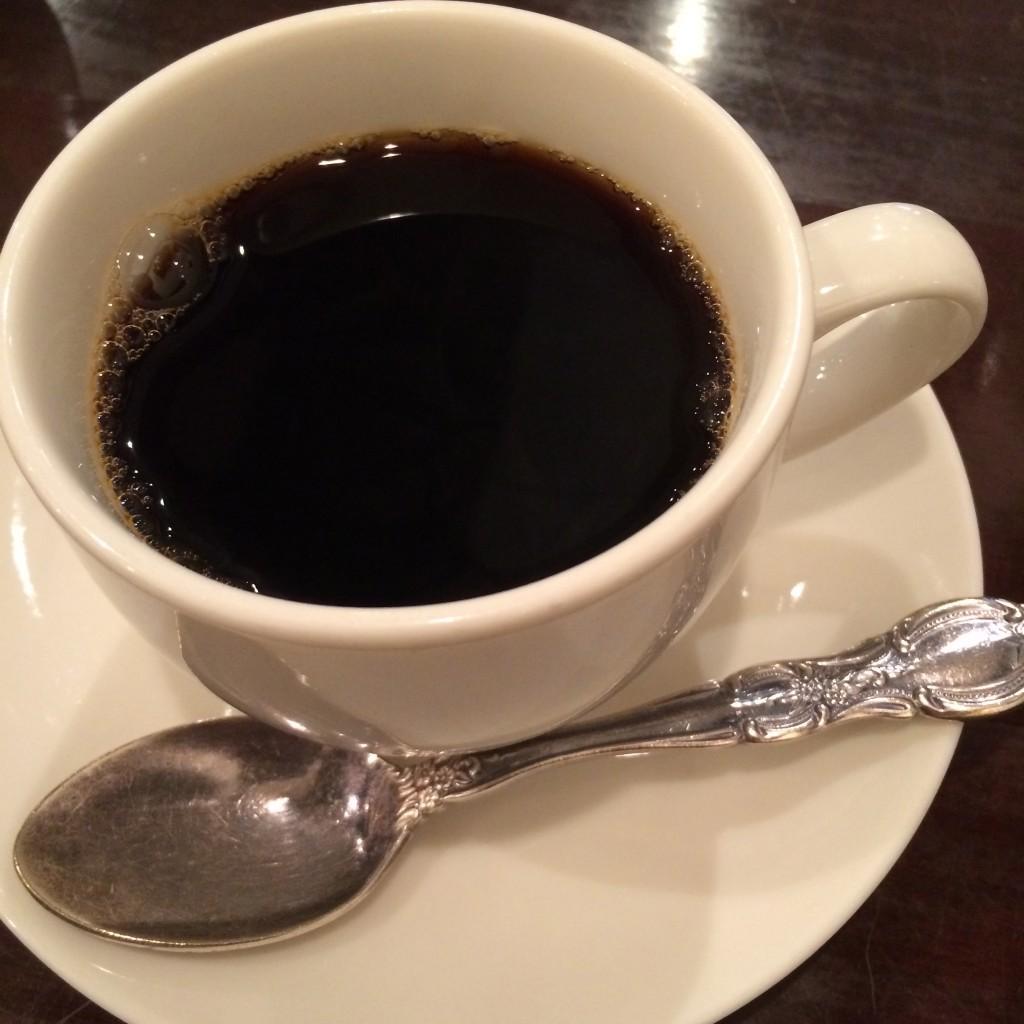サラズカウントの食後のコーヒー