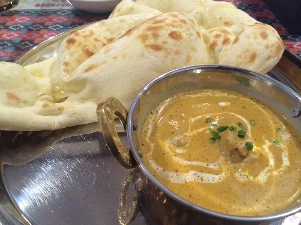 新しく出来たネパール料理「ダウラギリ」でランチ